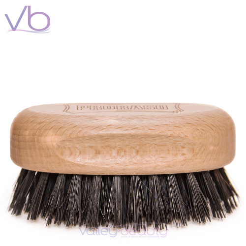 Proraso Beard and Mustache Brush | Elegant , Wooden Military Style