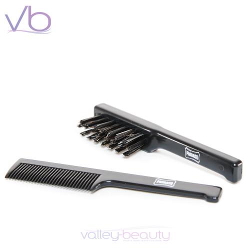 Proraso Lightweight Beard and Mustache Comb-Brush Combo
