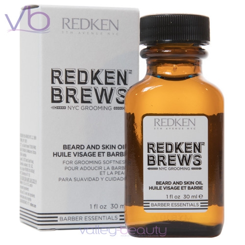 Redken Brews For Men Beard And Skin Oil