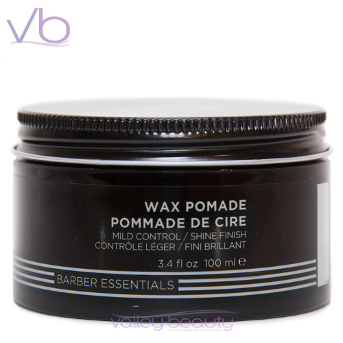 Redken Brews Wax Pomade with Medium Control and Shine Finish
