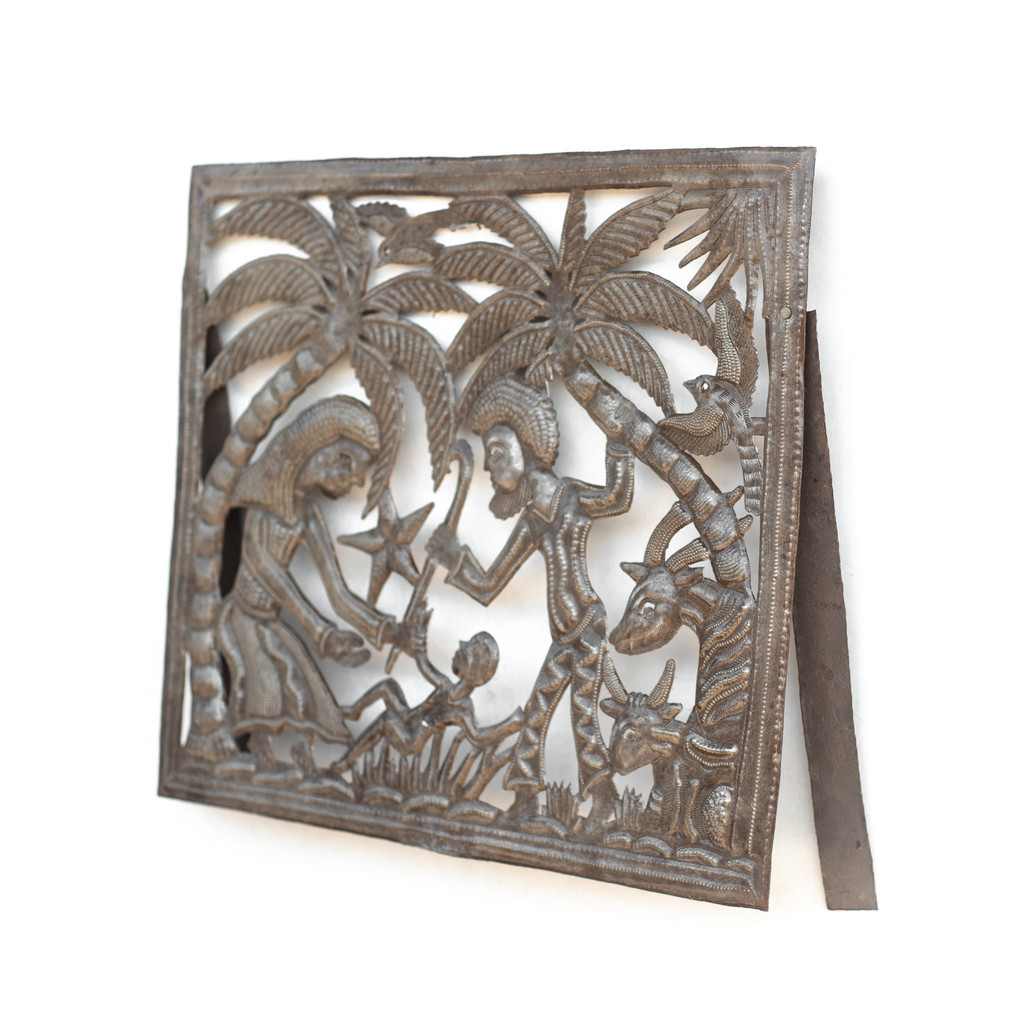 Stand, Metal, Fireplace Cover