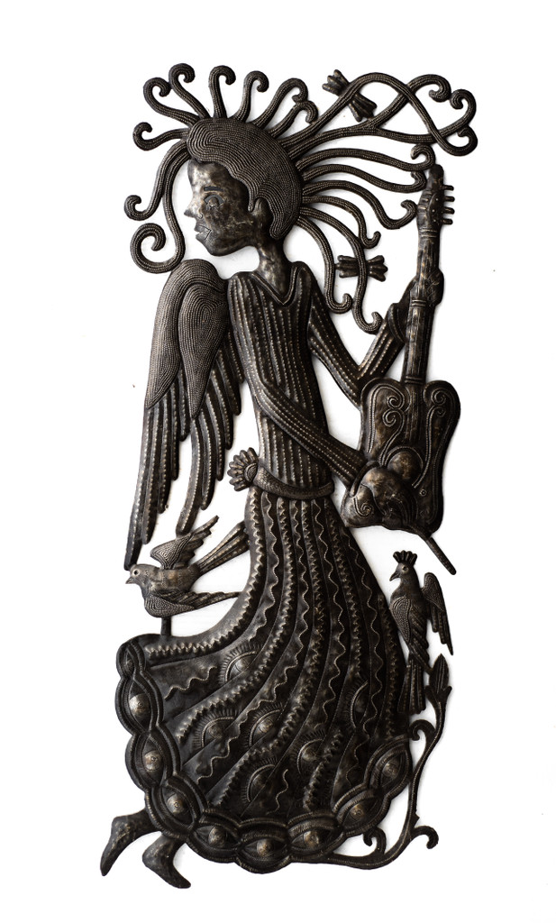 Angel, Angel's Wings, Angelic, Guardian Angel, Angels, Garden Angel, Guitar, Guitarist, Angel Musician
