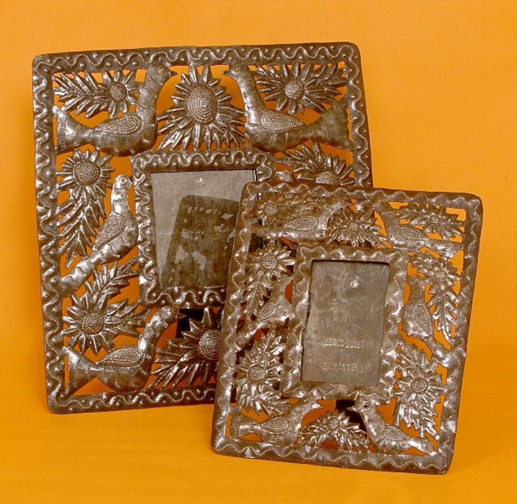 Metal Art Frame hand made in Haiti