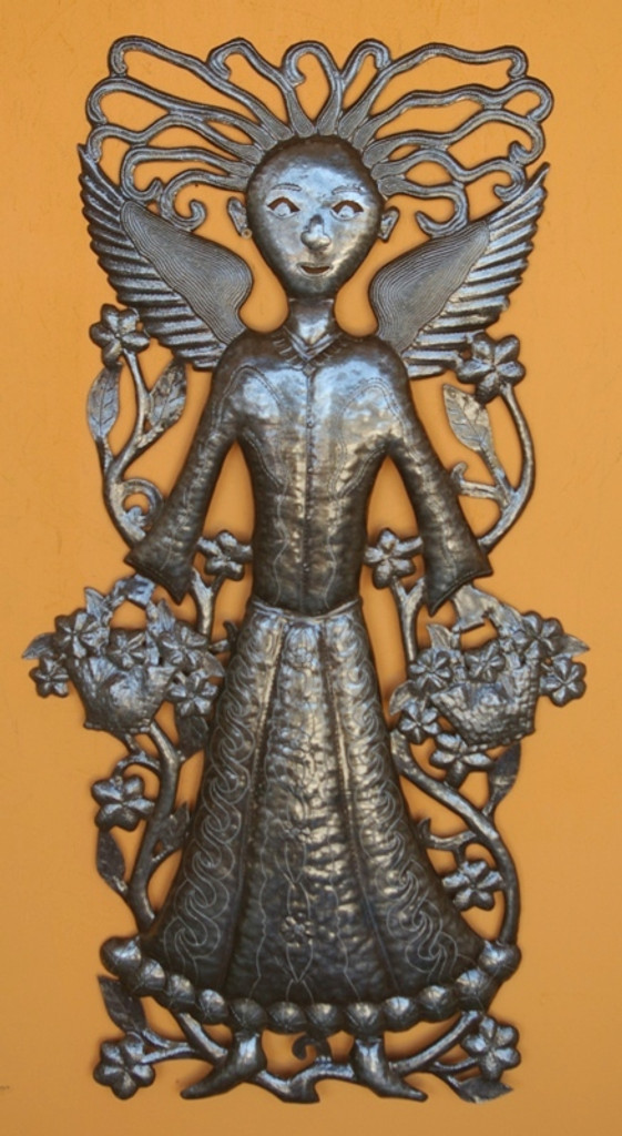 Fair Trade Federation Recycled Steel Sculpture Haiti