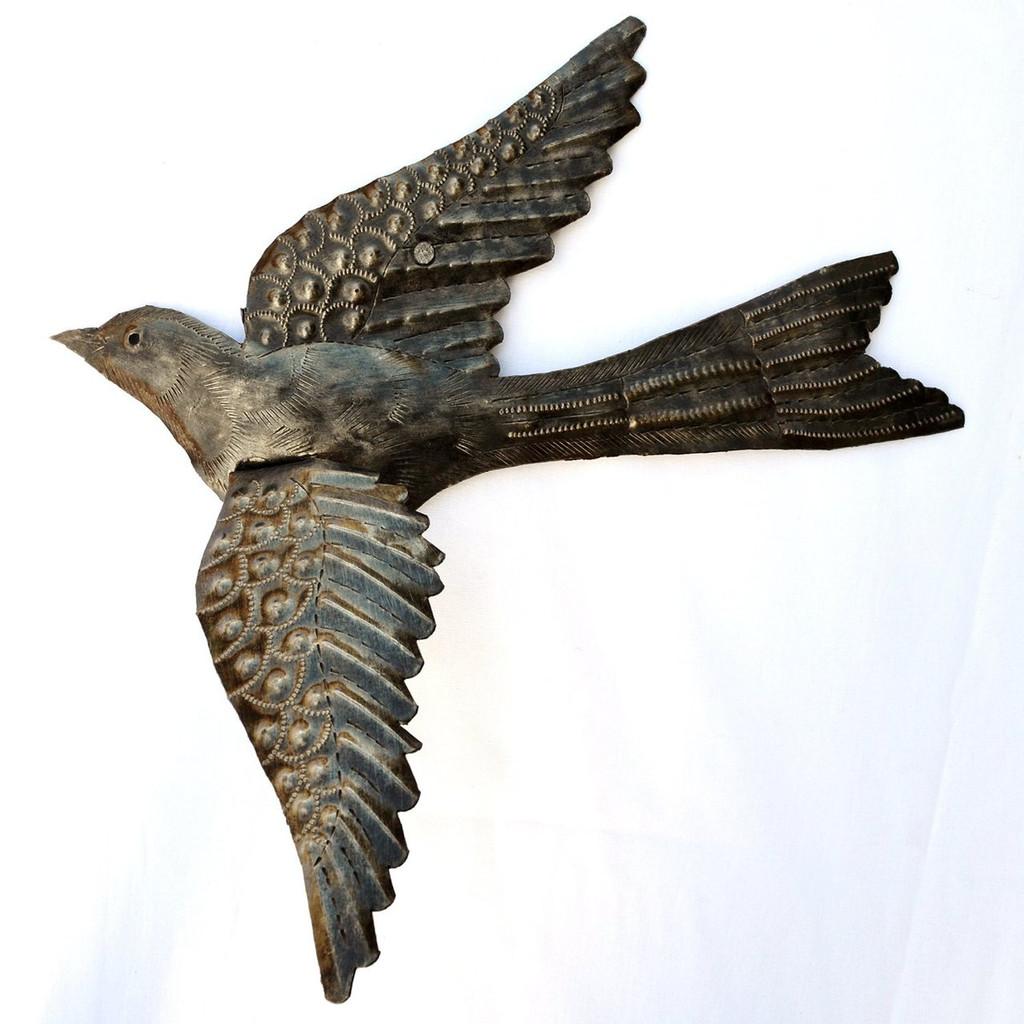 Recycled Steel Birds Haiti