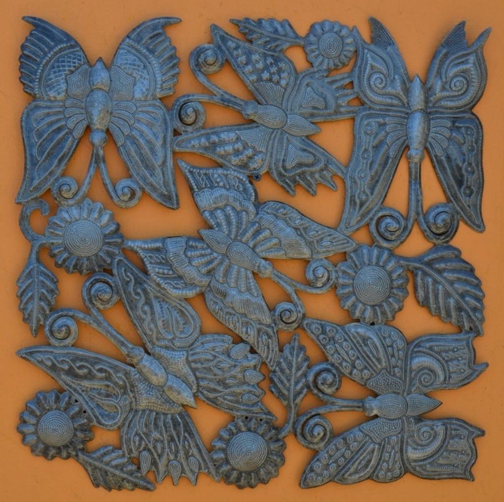 Butterflies and Dragonflies, Metal Wall Art