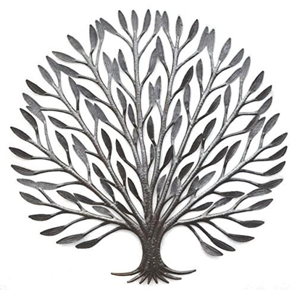 Elegant Tree of Life Haiti Metal Art Garden Art for Indoor and Outdoor