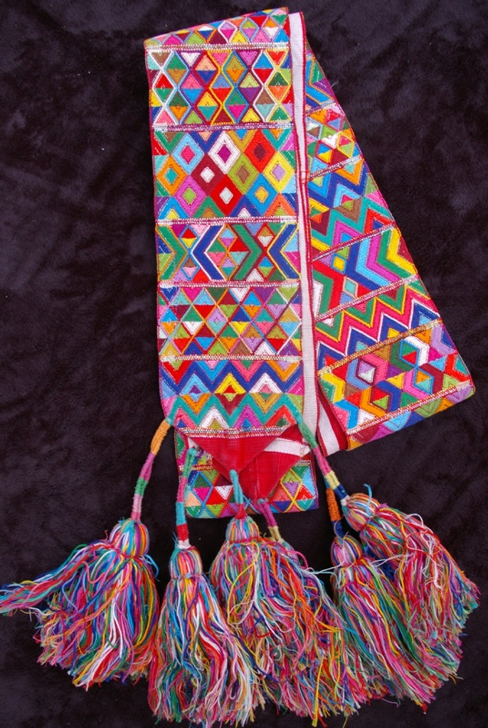 Traditional Headdress Aguacatan Belt