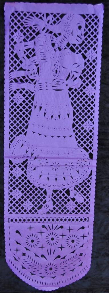 papel picado, mexican cut paper decoration