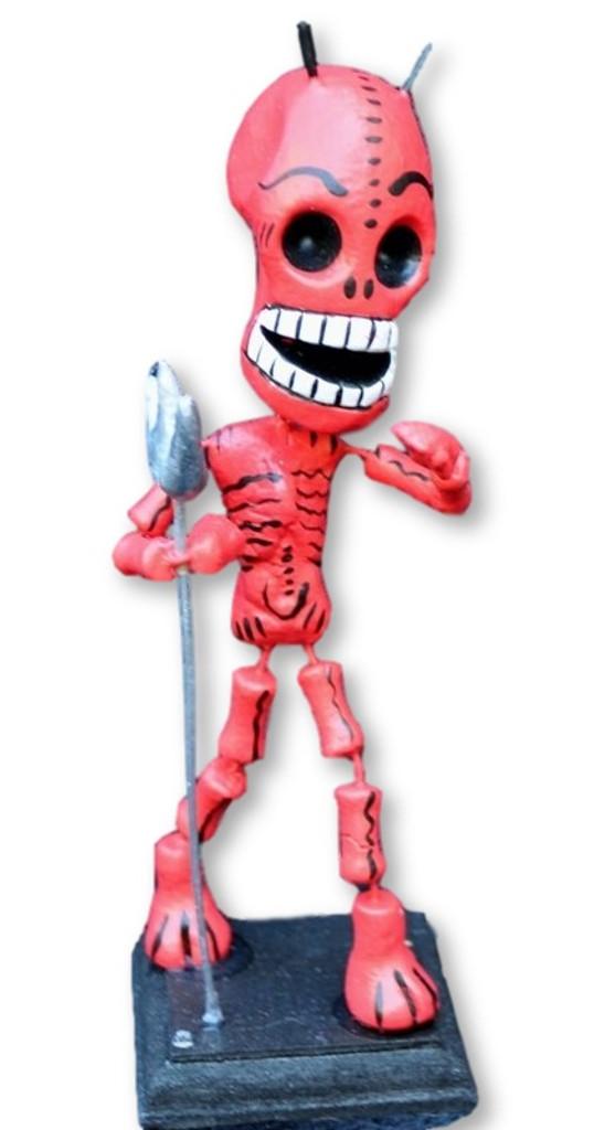 day of the dead, Dia de los Muertos Devil , bendable figure