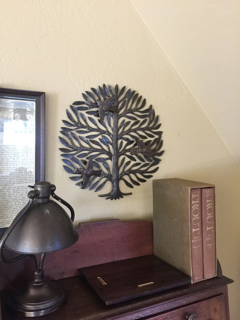 living with folk art in your home