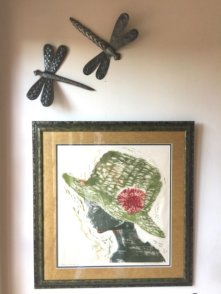 DRAGONFLY ACCENTS FOR WALL