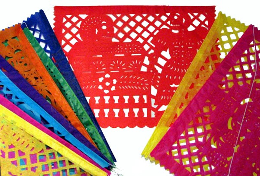 papel picado mexican cut paper decorations