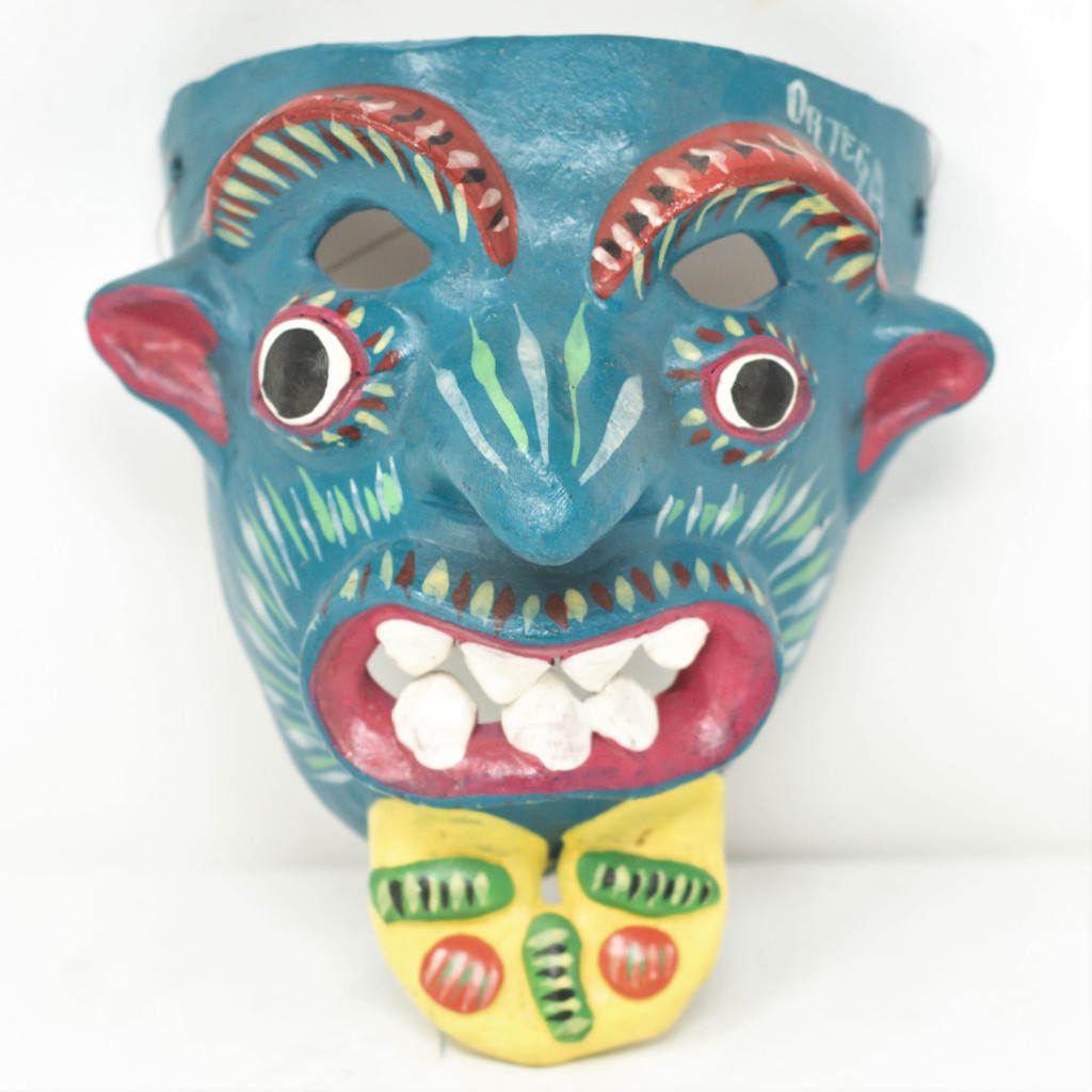 Masks are made scary to keep away evil spirits