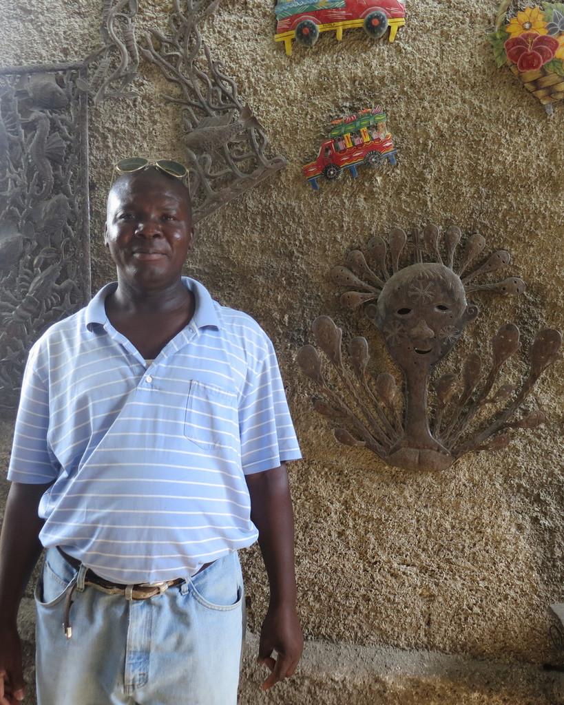 Haitian Metal Artist Edward Dieudonne
