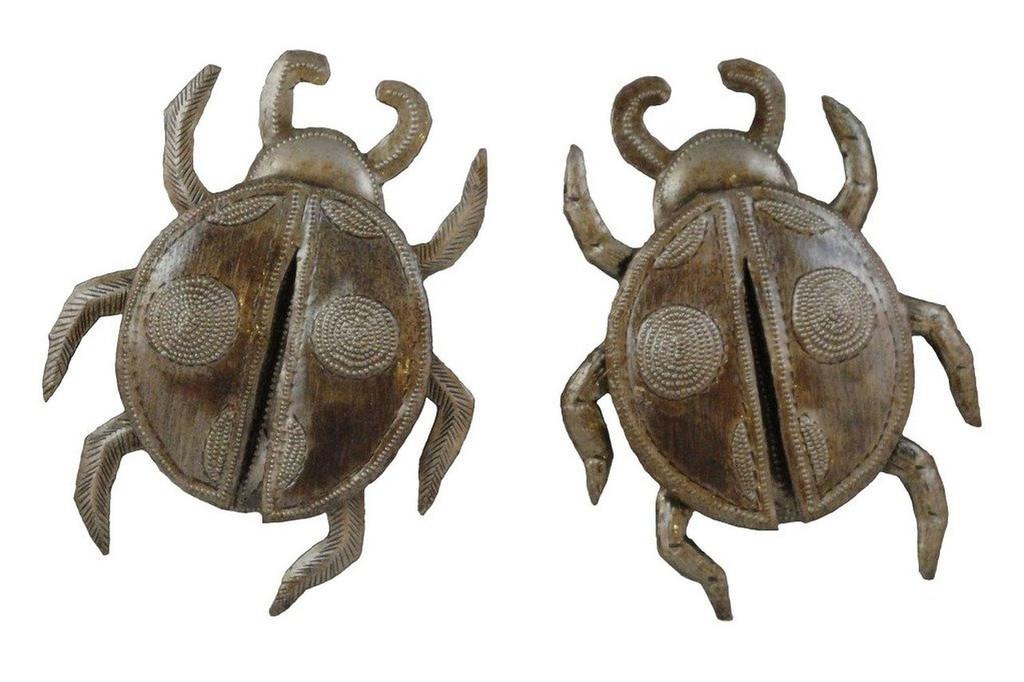 set of 2, lady bugs