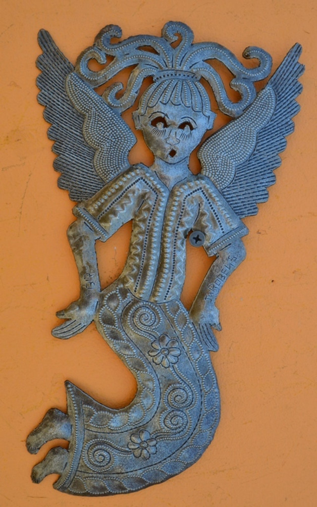 Fair Trade Wall art, handmade in Haiti