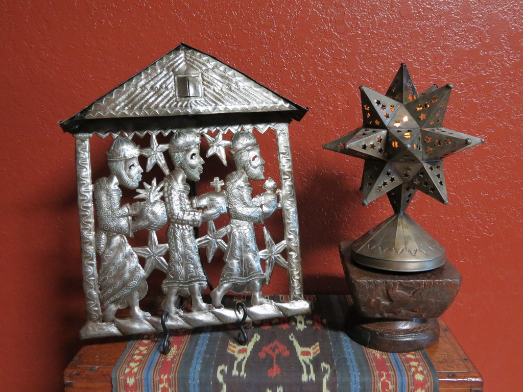 Living with Unique Folk Art at the Holidays