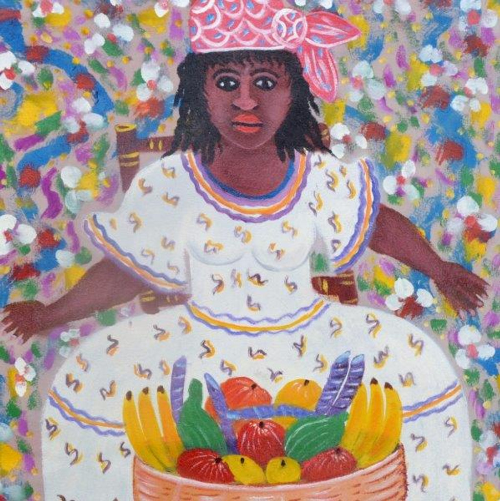 MAMBO AT THE MARKET  BY GERARD FORTUNE