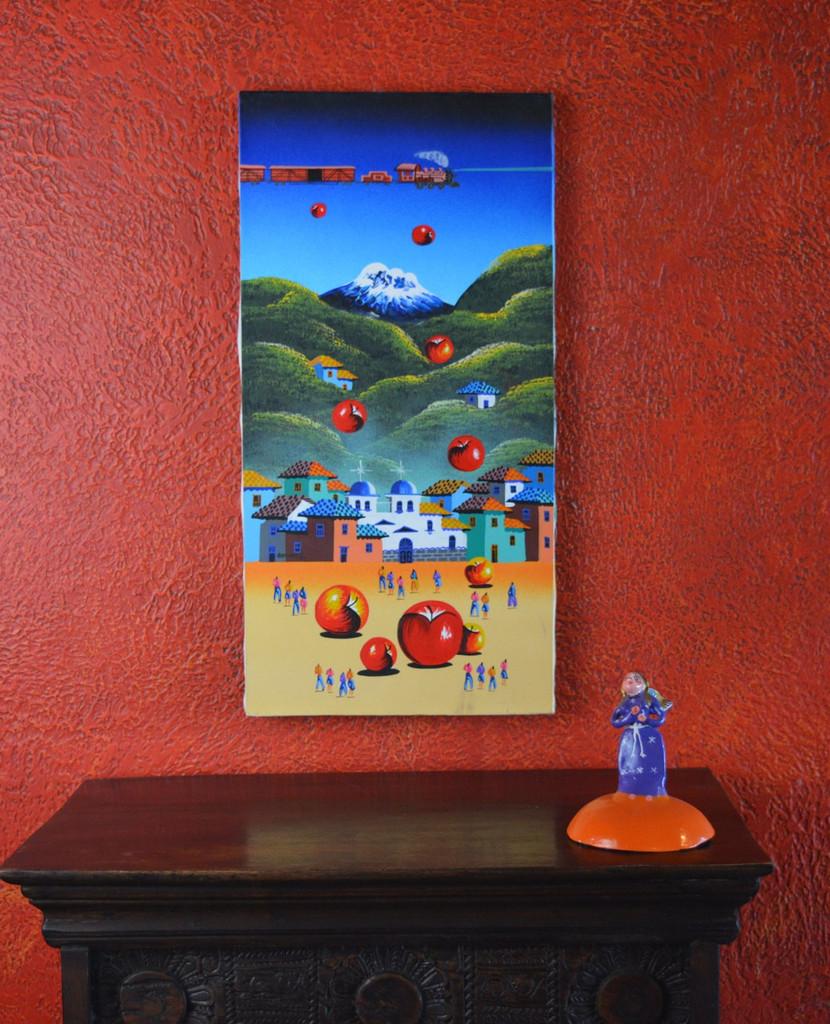 "Ecuador Painting  11.75""  X  23.5"""