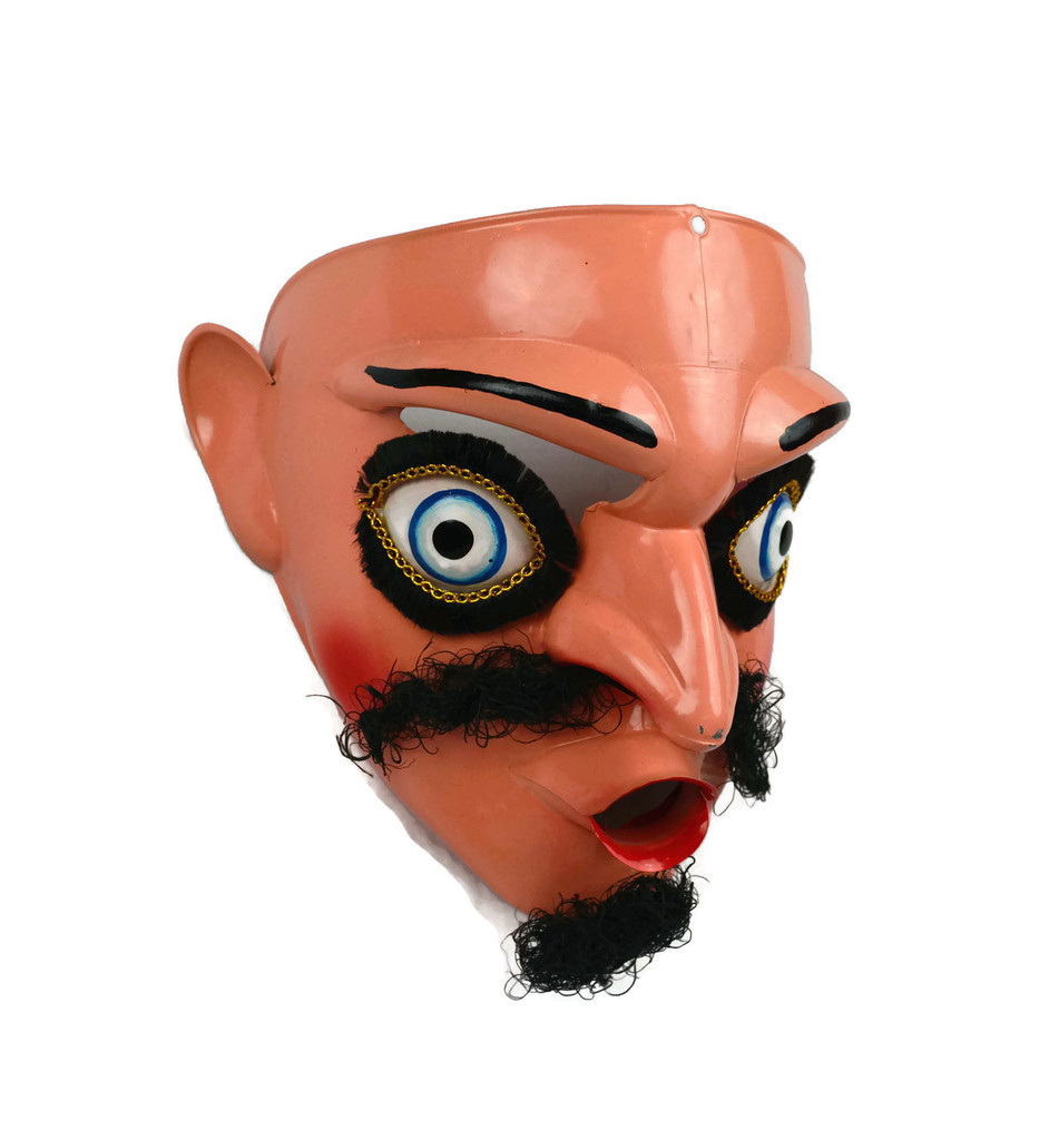 Bolivian Dance Mask Sain Michael Dance Mask