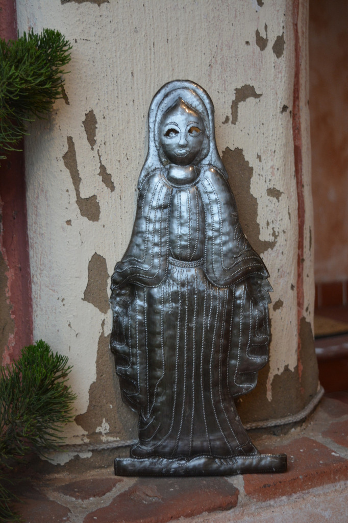 Our Lady of Guadalupe, Haitian Metal Wall Art
