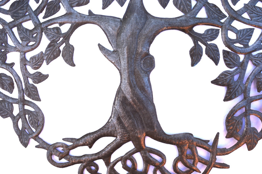 Tree of Life roots branches and growth, Handmade in Haiti