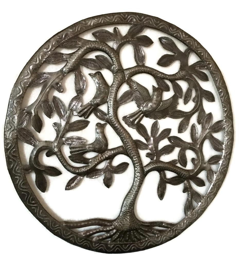 Tree of Life wall art , Fair trade haiti, Family Tree Home Decor