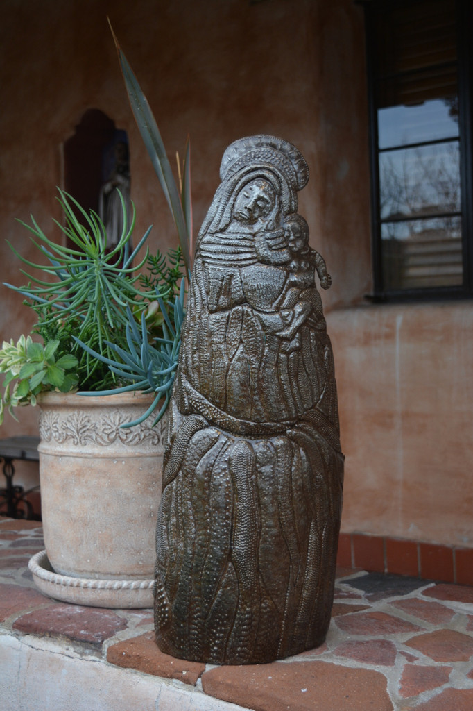 Our lady of Guadalupe , Metal Sanctuary Religious art