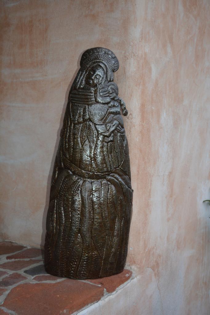 Religious Metal Garden Art, The Virgin Mary Carmel Mission