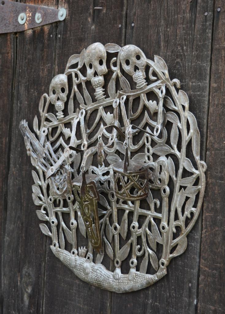 Metal Art Gede Haitian Traditional Art