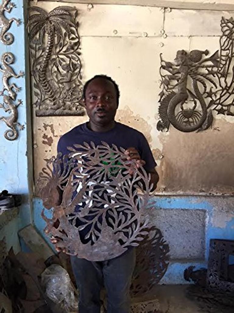 Handmade in Haiti, Haitian Artist Angel, Fair Trade