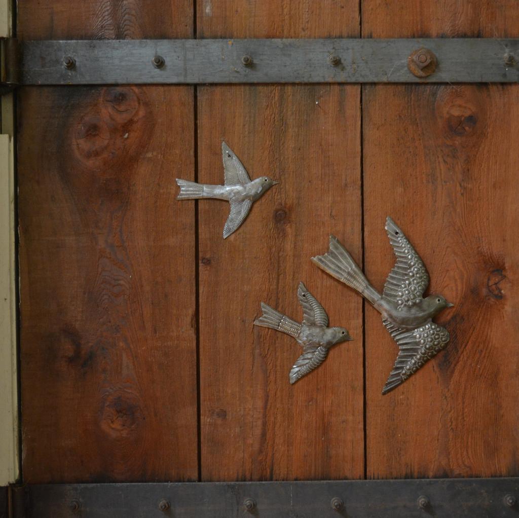 Ornamental birds Haiti Metal Art