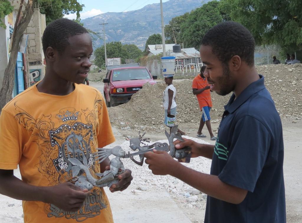 Joubert Brutus Haitian Metal Artist