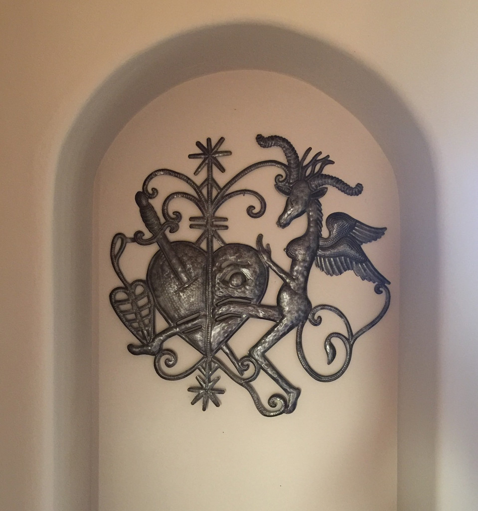 LIVING WITH FOLK ART TRADITIONAL METAL ART HAITI