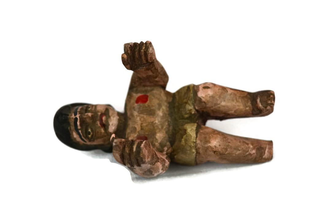 """Hand Carved Nativity Scene (set 7), Religious Devotional Art 8"""""""