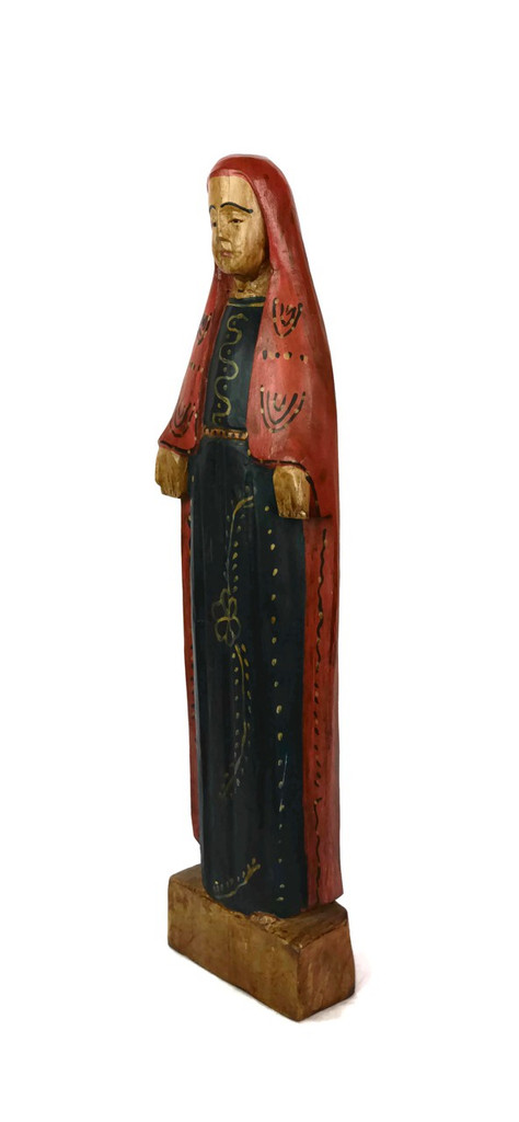 Saint Mary, Large Virgen de Guadalupe, Religious Folk Art