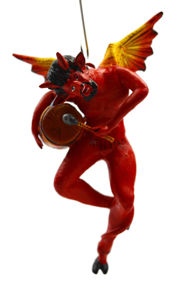 Devil Playing the Drum, Ornament