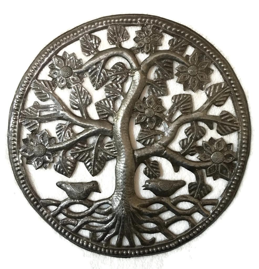 Decorative Small Tree of Life, Handmade in Haiti