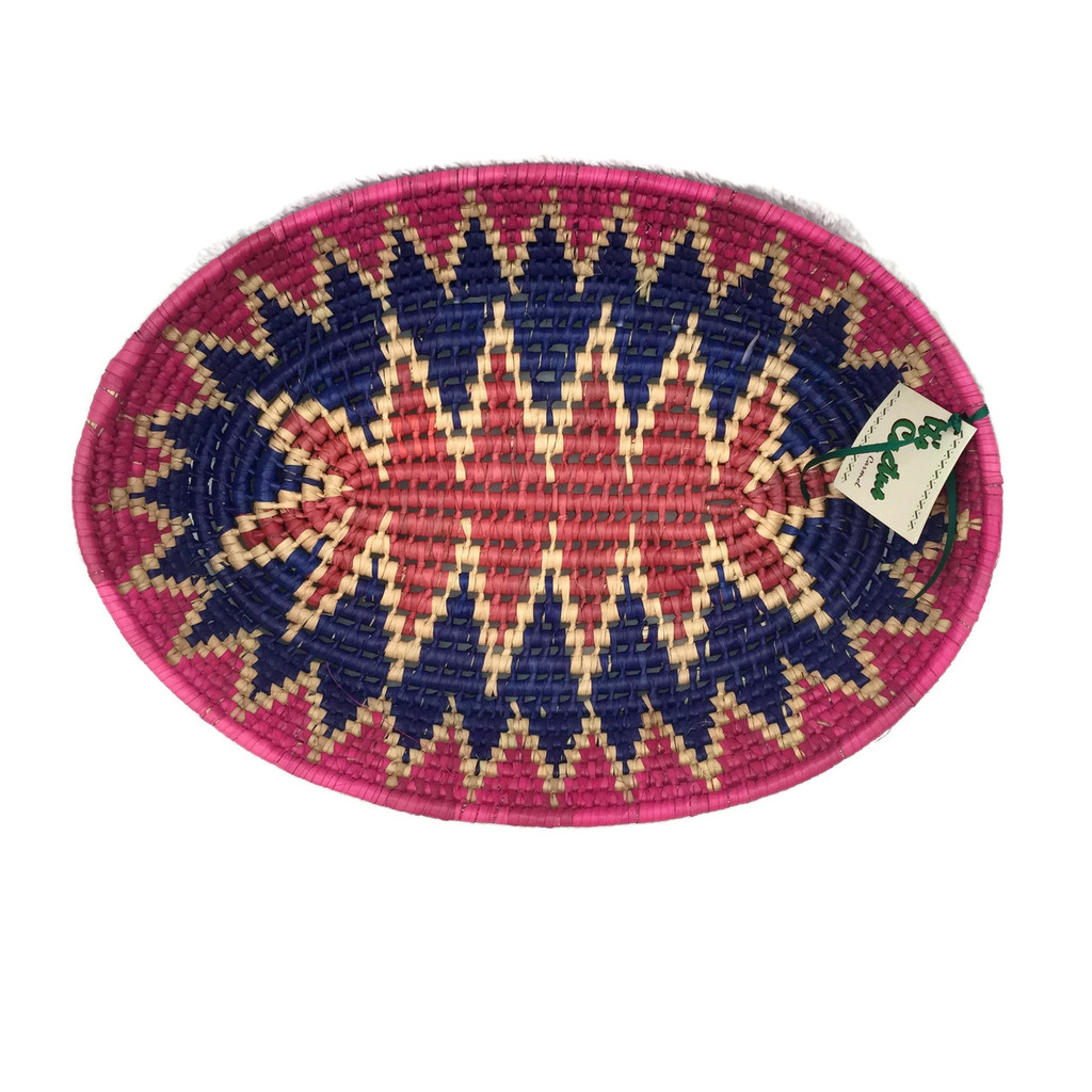 Latin American Fiesta , Vibrant Colorful Basket
