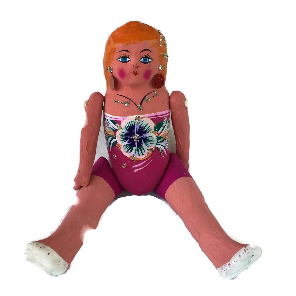 Mexican Doll Paper Mache