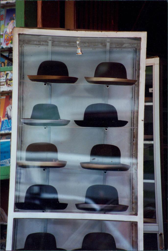 Traditional Bowler Hats worn by Cholita Women in La Paz