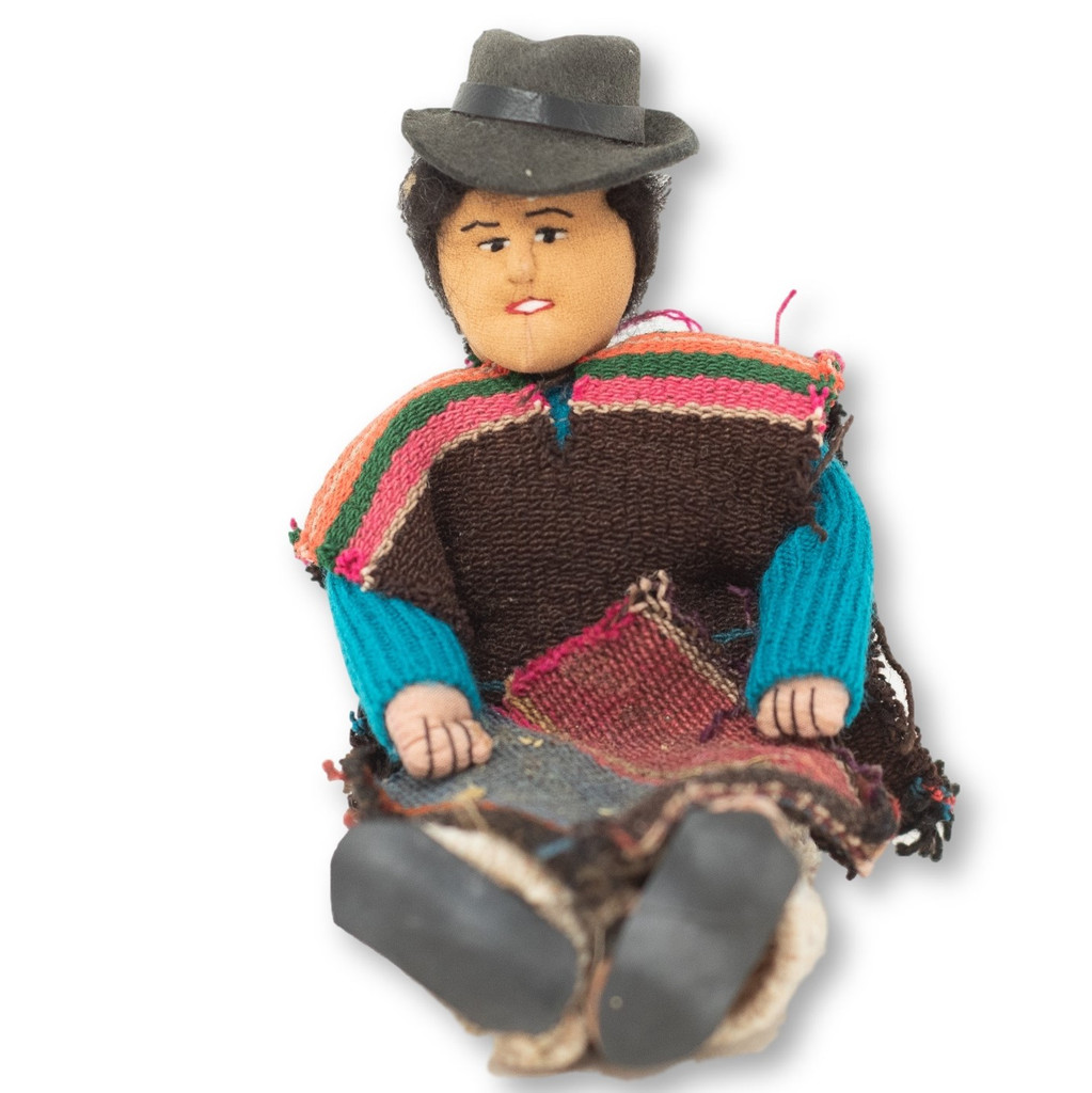 Handmade cotton and Wool, hand spun, dolls, Ethnic collectables