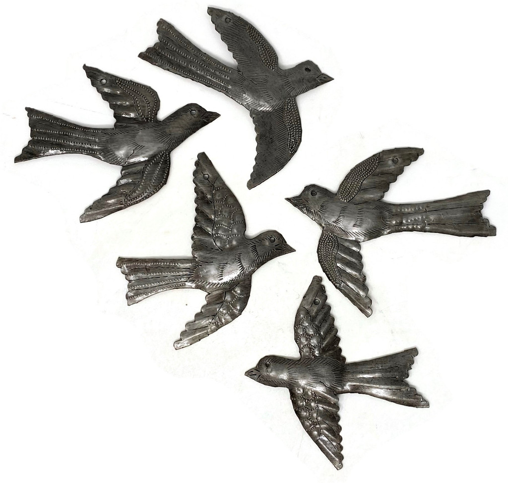 Haitian Metal Birds Fair Trade Haiti