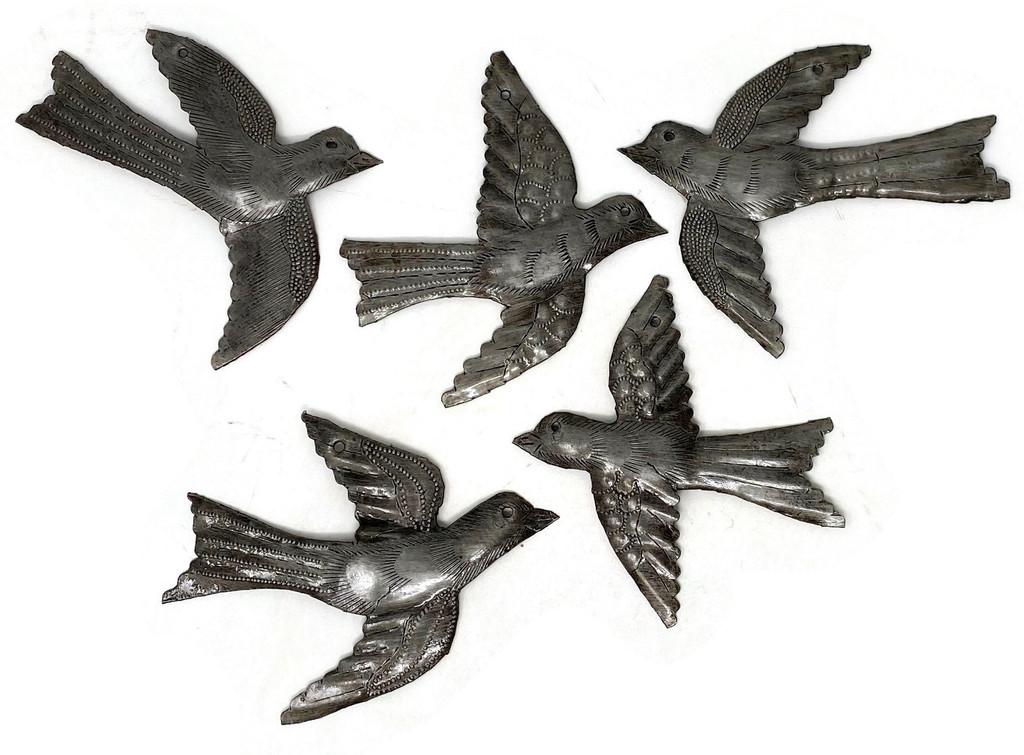 Garden Decor , Metal Birds
