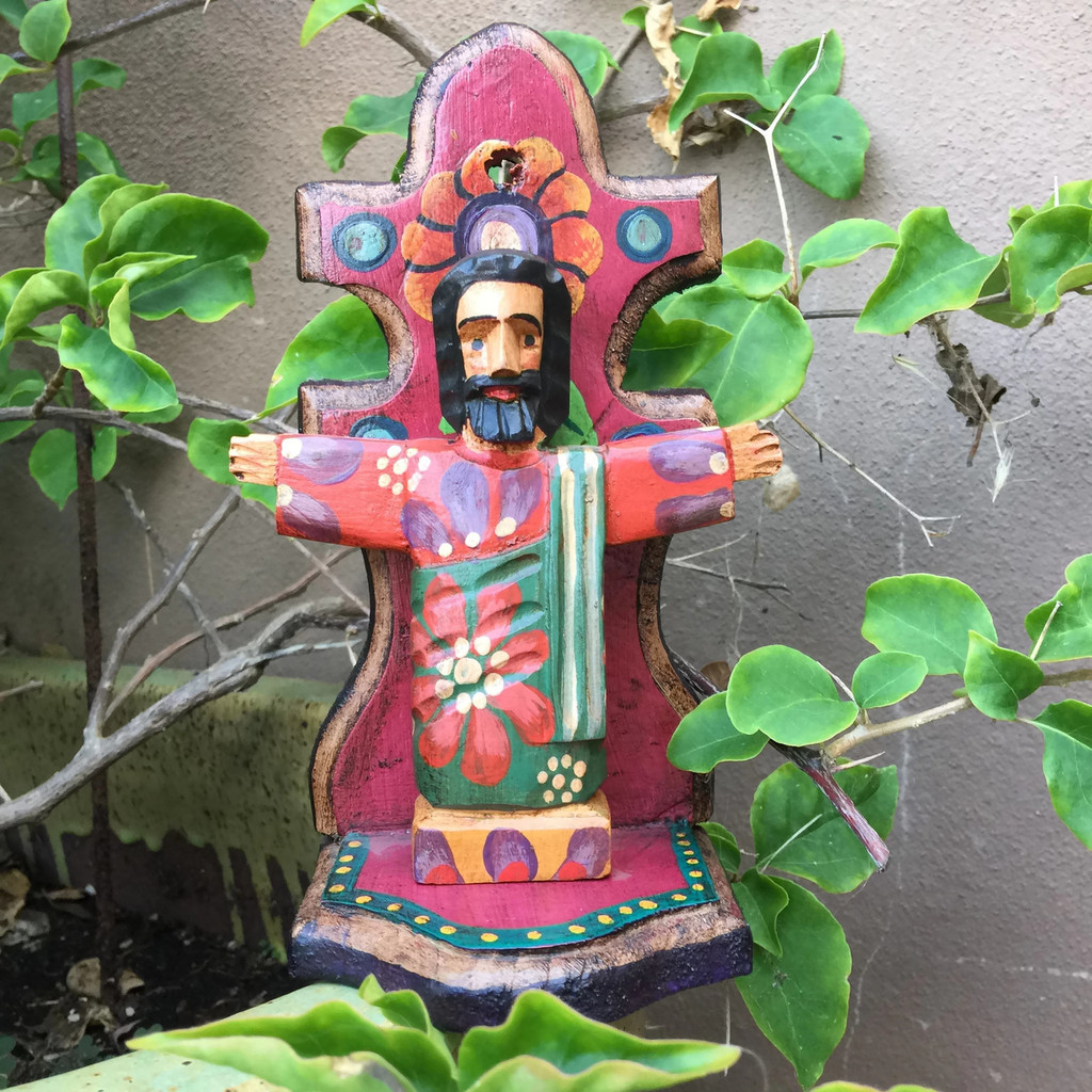 Jesus saint, Folk art home decor