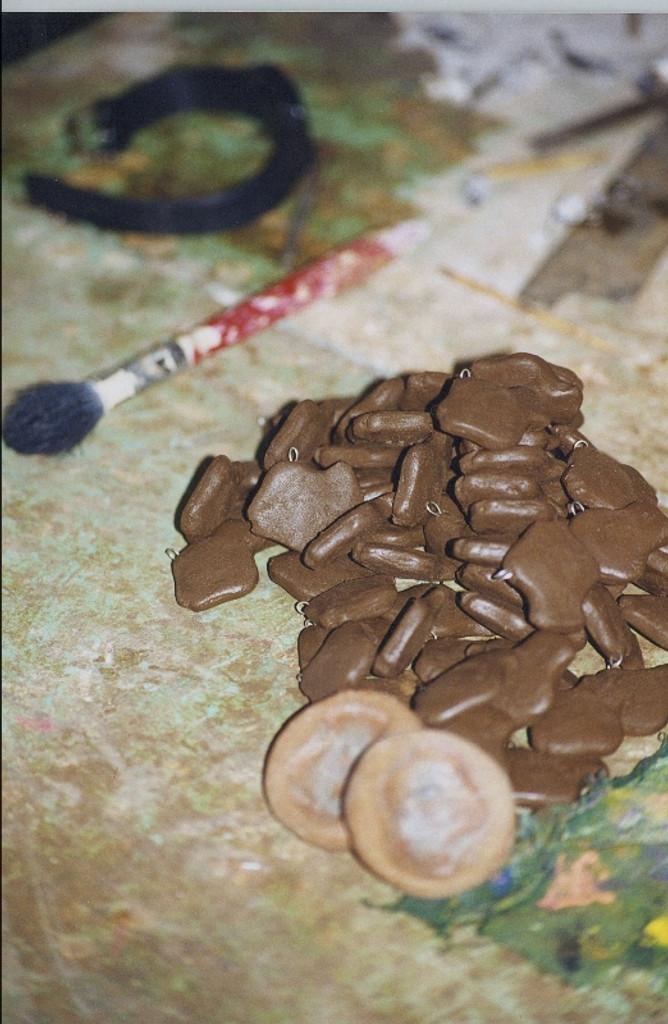 hand made clay beads Guatemala