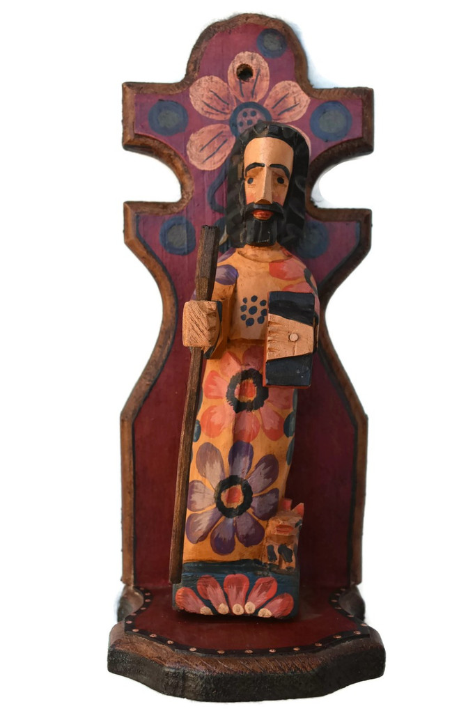 Saint Joseph is the Patron Saint of: Carpenters, Fathers, Happy death, Social Justice, Travelers, Workers