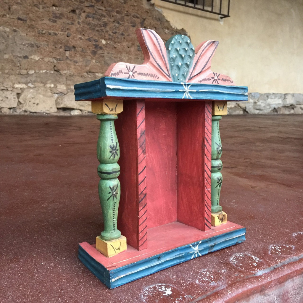 Colorful Portable Altar from Guatemala