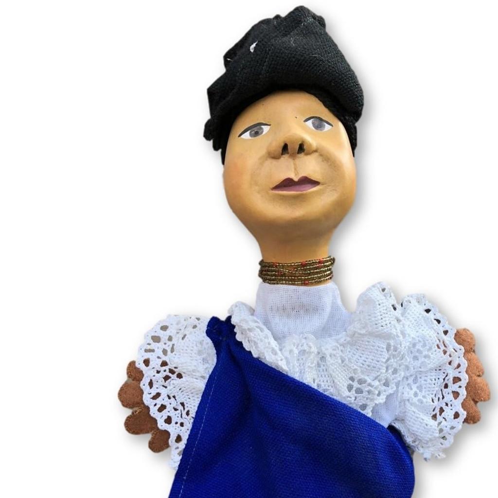 Hand puppet doll Otavalo Ecuador